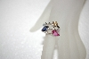 **MBA #17-571  Charles Winston Created Sapphire & CZ Ring