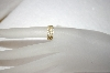 **MBA #17-110 14K Yellow Gold Lace Pattern Pinki Ring