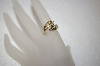 MBA #17-265  14K Yellow Gold Round & Baguette Diamond Ring