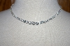 **MBA #18-127  Charles Winston Clear CZ Necklace With Matcing Earrings
