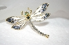 **MBA #18-146  Hand Enameled Dragonfly Pin