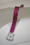 **MBA #18-250  Charles Winston Created Ruby Buckle Bracelet
