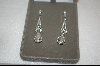 **Nolan Miller Fancy Crystal Drop Pierced Earrings