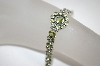 **MBA #18-230  Beautiful Peridot Sterling Bracelet