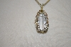 **MBA #19-187  Clear Quartz Crystal Wire Wraped Pendant