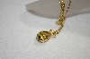 "Joan Rivers Golden Egg Pendant With 32"" Chain"