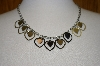 **MBA #19-603  Adjustable Multi Heart Necklace