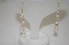 +MBA #19-162 14K Cultured Freshwater White Pearl Earrings