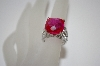 MBA #19-472  Charles Winston Created Pink Sapphire Ring