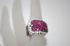 "**MBA #19-593  ""Charles Winston Created Ruby Buckle Ring"