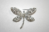 Imagine Designs Clear Crystal Dragonfly Pin