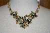 **MBA #20-668  Sweet Romance Autumn Vine Necklace
