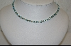**  30ct Oval Blue Topaz Sterling  Tennis Style Necklace
