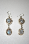+MBA #20-484  Sterling Moonstone Dangle Earrings