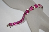 **MBA #20-427  Charles Winston Created Pink Sapphire Bracelet