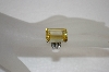 +MBA #20-059  Sterling Square Cut Canary & Clear CZ Ring