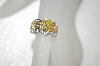 **MBA #20-090  Charles Winston Canary & Cognac CZ Ring