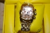 *MBA #21-036  Invicta Unisex Gold-Tone Lupah Watch