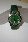 *MBA #21-389  Croton Men's Aquamatic Ostrich Strap Watch