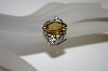 **MBA #21-219  Sterling/Platinum Quartz & Zircon Ring