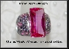 MBA #21-188  Charles Winston Created Pink Sapphire & Amethyst CZ Ring