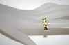 **MBA #21-196  14K Yellow Gold Diamond Weave Ring