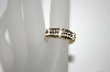 "**MBA #21-269C  10K Yellow Gold ""I Love You"" Diamond Ring"
