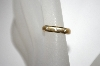 MBA #21-316  14K Yellow Gold Diamond Accent Silk Fit Ring