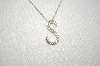 "**MBA #21-452  14K Yellow Gold ""S"" Pendant"