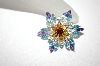 "**MBA #21-286  ""14K WG Gemstone & Diamond Pin/Pendant"