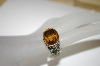 **MBA #21-156  Sterling/18K Citrine Ring