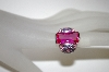 **MBA #21-186  Charles Winston Created Pink Sapphire & Lavender CZ Ring