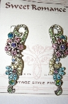Sweet Romance Spring Corsage Earrings