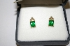 **MBA #21-353  Black Hills Gold Helenite Earrings