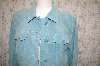 Denim & Co. Blue Washable Suede Fully Lined Shirt Jacket