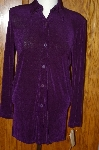 "**MBA #24-356  ""Jessica Holbrook Long Purple Shirt"