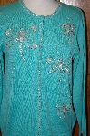 "MBA #23-425  ""Bob Mackie Dragonfly Beaded Sweater"
