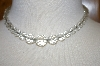 **MBA #24-1070  Vintage Clear Crystal Necklace