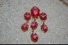 +MBA    Antique Pink Acrylic Brooch