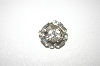 **Vintage Clear Rhinestone Small Pin