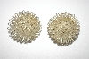 "+MBA #25-030  ""Silver Tone Clip Style Wire Earrings"
