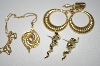 "Set Of Three 2 pairs Of Earrings & 1 Pendant With 18"" Chain"