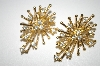 **MBA #25-056  Avon Spiky Rhinestone Pierced Earrings