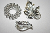 "** ""2"" Sarah Coventry""  Set Of Three Silver Tone Pins"