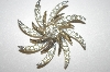 **MBA #S4-189  Sarah Coventry Crystal Pin