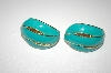 **MBA #S4-146  Avon Large Enameled Clip Style Earrings