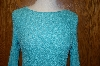 "**MBA #25-141   ""From Creative Design Works Turquoise Colored Stretch Top"