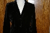 "**MBA #25-126  ""From Boston Proper  Classy Black Velvet Jacket"