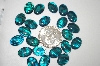23 Blue/Green Cut & Polished Paua Shell Cabochons