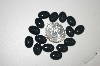 "MBA #23-097   ""Set Of 15 Black Onxy Cabochons"